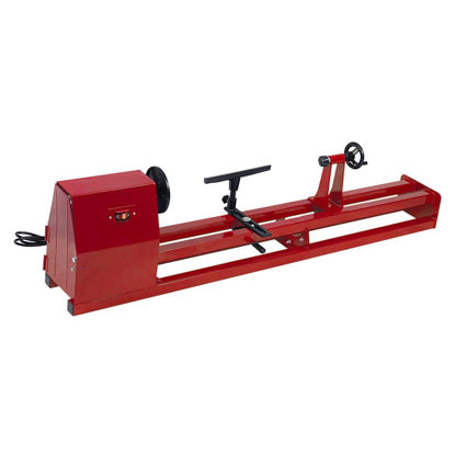 """Picture of 1/2 HP 4 Speed 40 Inch Wood Turning Lathe Machine 120v 14"""" x 40"""""""