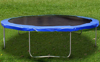 Picture of 14 FT Trampoline Safety Pad EPE Foam Spring Cover Frame Replacement Blue