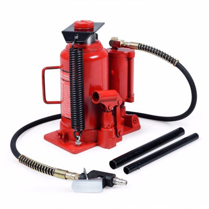 Picture of 20 Ton 40,000lb Air and Hydraulic Bottle Jack Heavy Duty
