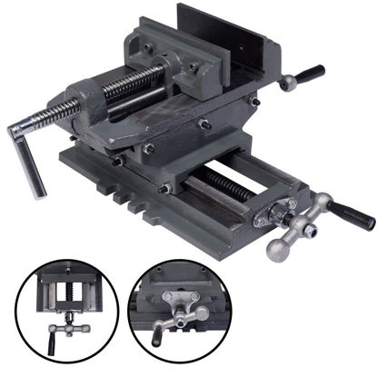 """Picture of 5"""" Cross Drill Press Vise"""