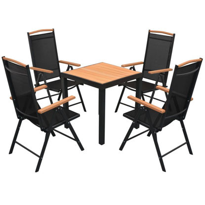 Picture of Outdoor Dining Set - Aluminum - WPC