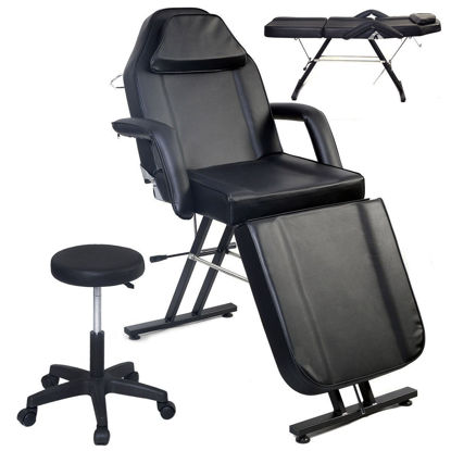 Picture of Adjustable Massage Table - Black