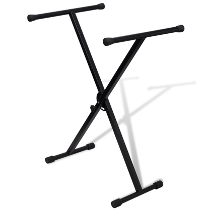 Picture of Adjustable Single Braced Keyboard Stand X-Frame