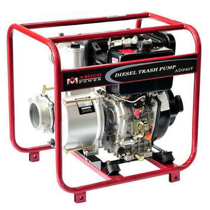 "Picture of AMICO Power 4"" Diesel Trash Water Pump"