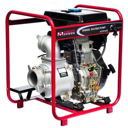 "Picture of AMICO Power 4"" Diesel Water Pump/ Electric Start"