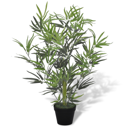 """Picture of Artificial Bamboo Tree with Pot 31"""""""