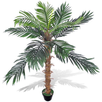 """Picture of Artificial Plant Coconut Palm Tree with Pot 55"""""""