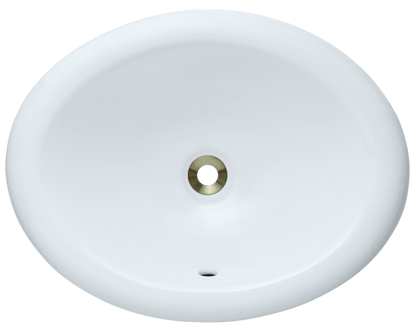 Picture of Bathroom Overmount Porcelain Vanity Bowl
