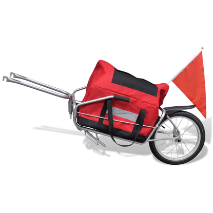 Picture of Bicycle Cargo Trailer One-wheel with Storage Bag