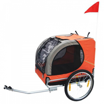 Picture of Dog Bike Trailer - Orange