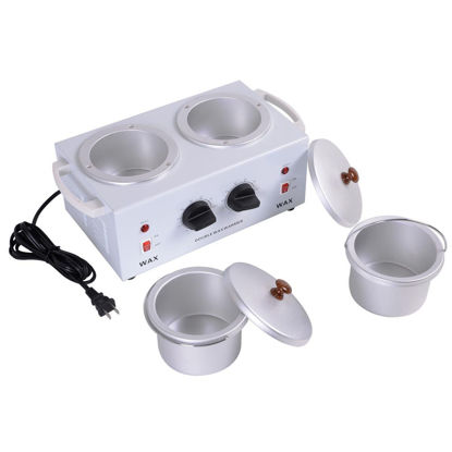 Picture of Double Hot Paraffin Pot Wax Warmer Heater Machine