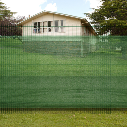 """Picture of Fence Windscreen-Privacy Mesh Screen/Net-Green - 6' 6"""" x 9' 8''"""
