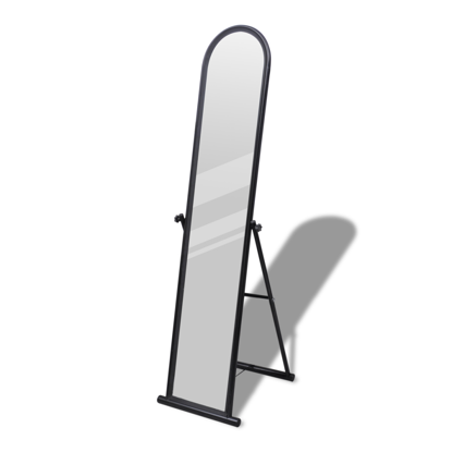 Picture of Floor Mirror Free Standing Full-Length Rectangular - Black