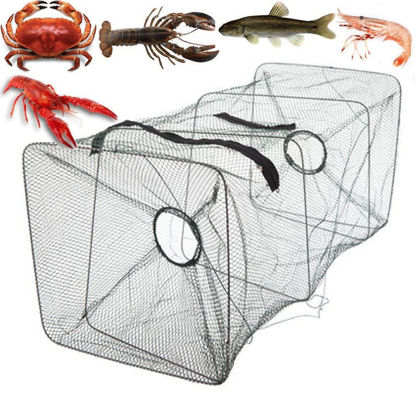 Picture of Foldable Fish Net Fishing Bait Trap