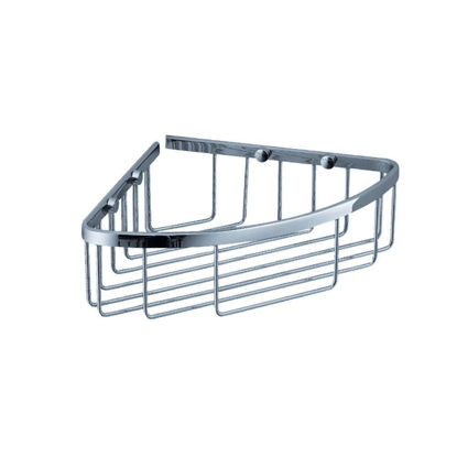 Picture of Fresca Single Corner Wire Basket - Chrome