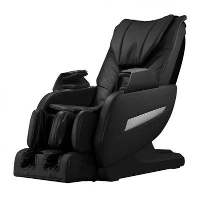 Picture of Full Body 3D Shiatsu Zero Gravity Massage Chair Recliner L-Track Heat