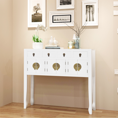 Picture of Hallway Sideboard Chinese Style - White