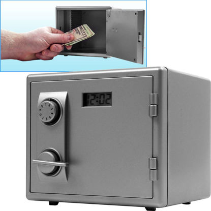 Picture of Mini Toy Safe with LCD Digital Clock