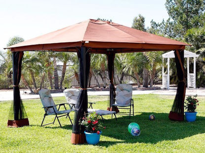 Picture of Outdoor 10' x 12' Patio Gazebo Tent Awnings