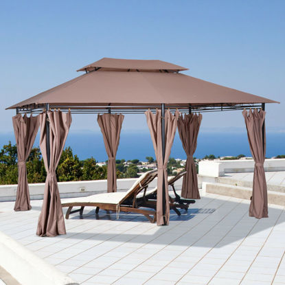 Picture of Outdoor 10' x 13' Tent With Removable Curtains