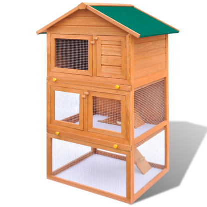 """Picture of Outdoor 3 Layer 32"""" Chicken Coop"""