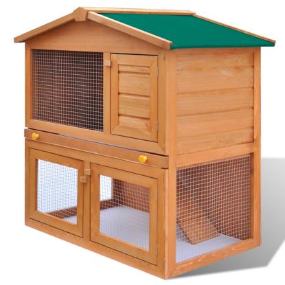 """Picture of Outdoor 36"""" Wooden Chicken Coop"""