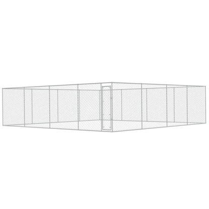 Picture of Outdoor Dog Kennel Galvanized Steel 25x25