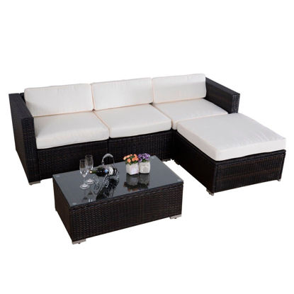 Picture of Outdoor Furniture Set - 5 pcs