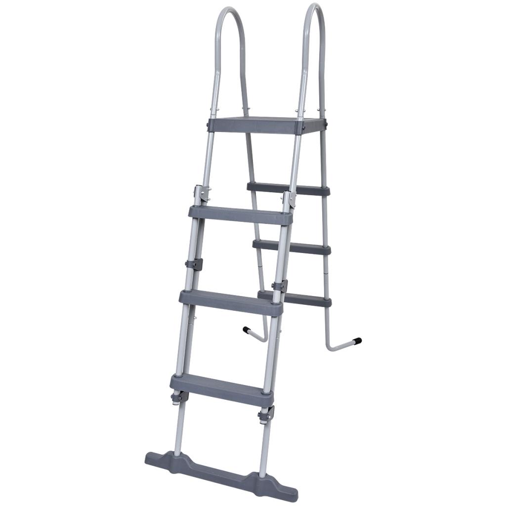 Picture of Outdoor Pool Safety Ladder Non-slip Steps Jilong Steel Frame - 4 ft