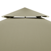 Picture of Outdoor Waterproof 10' x 13' Gazebo Cover Canopy - Beige