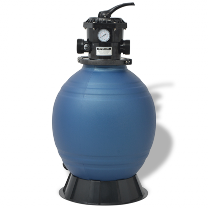 Picture of Pool Sand Filter 18 inch Round Blue