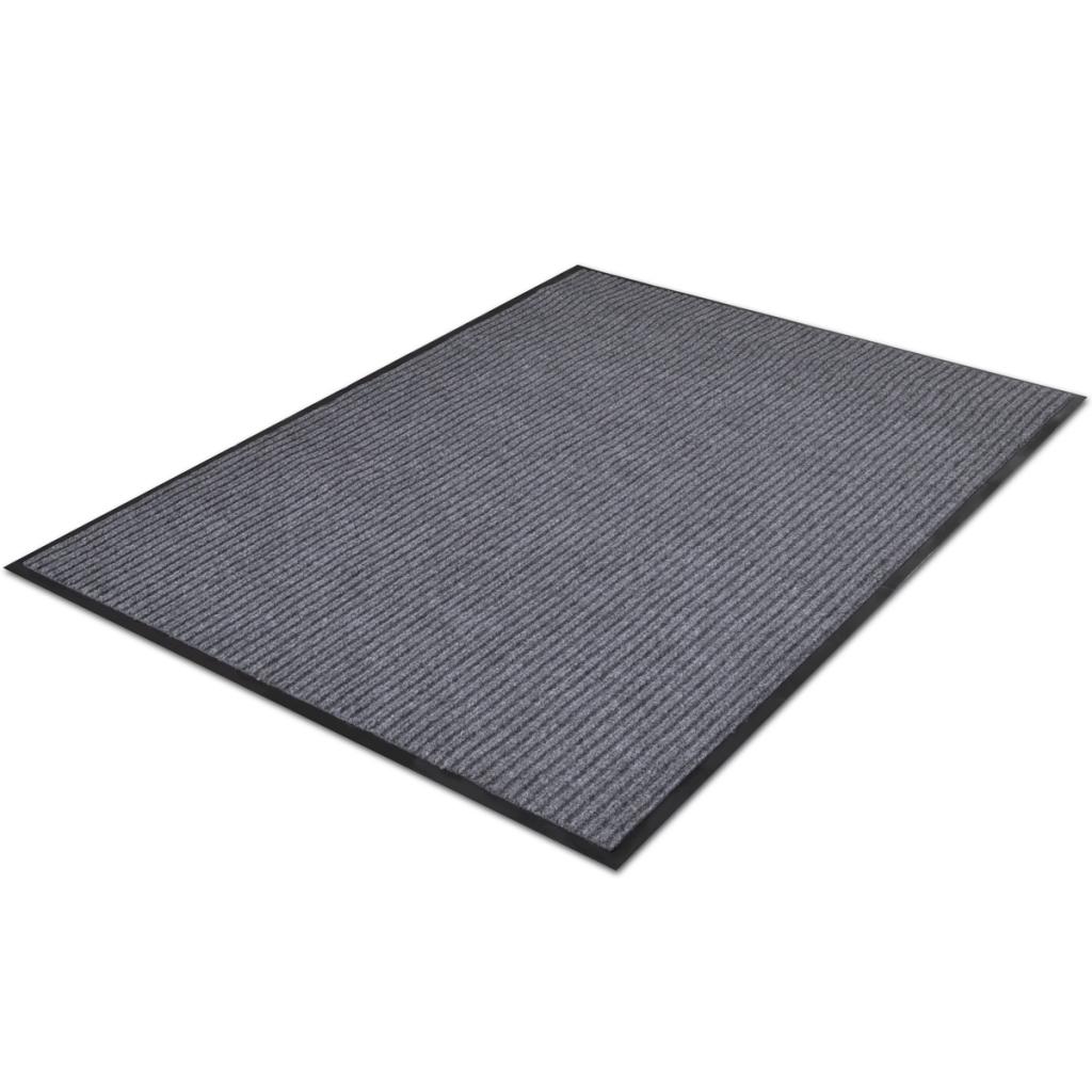 """Picture of PVC Door Mat 2' 9"""" x 4' 9"""" - Gray"""