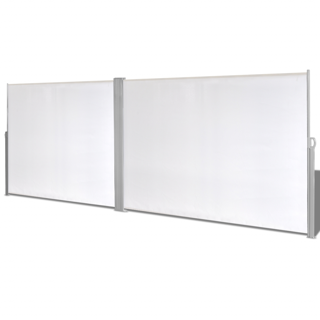 """Picture of Retractable Side Awning 71""""x236"""" Cream"""
