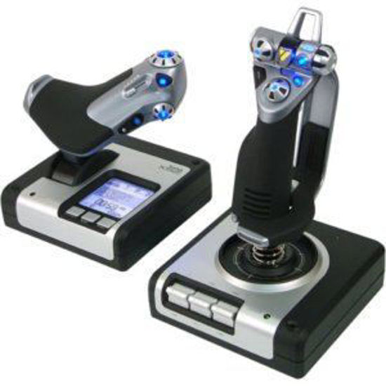 Picture of Saitek PS28 X52 Flight Control System with Multi-Function Display