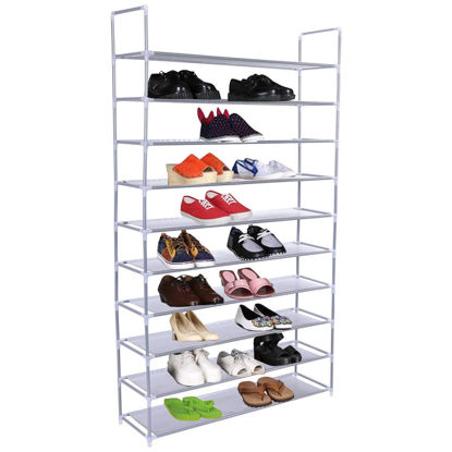 Picture of Shoe Rack Tower 50 Pair 10 Tier