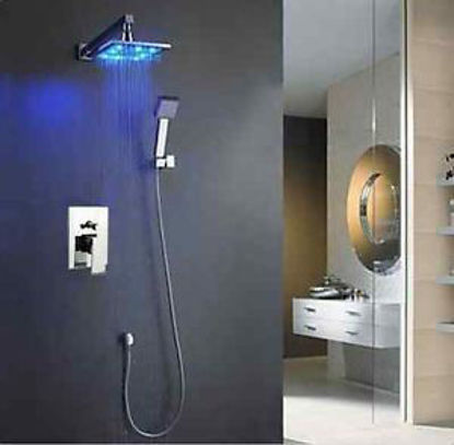 Picture of Shower Head Arm Control Valve Handspray Shower Faucet Set