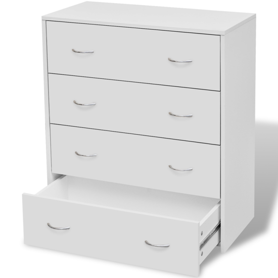 """Picture of Sideboard with 4 Drawers 23"""" - White"""