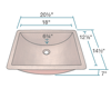 Picture of Single Bowl Copper Sink