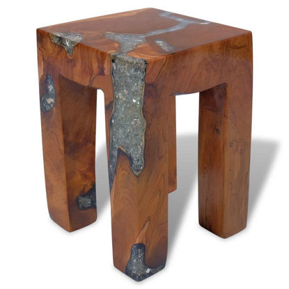 Picture of Wooden Accent Stool 11""