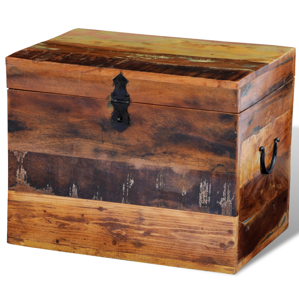 Picture of Storage Box - Reclaimed Solid Wood