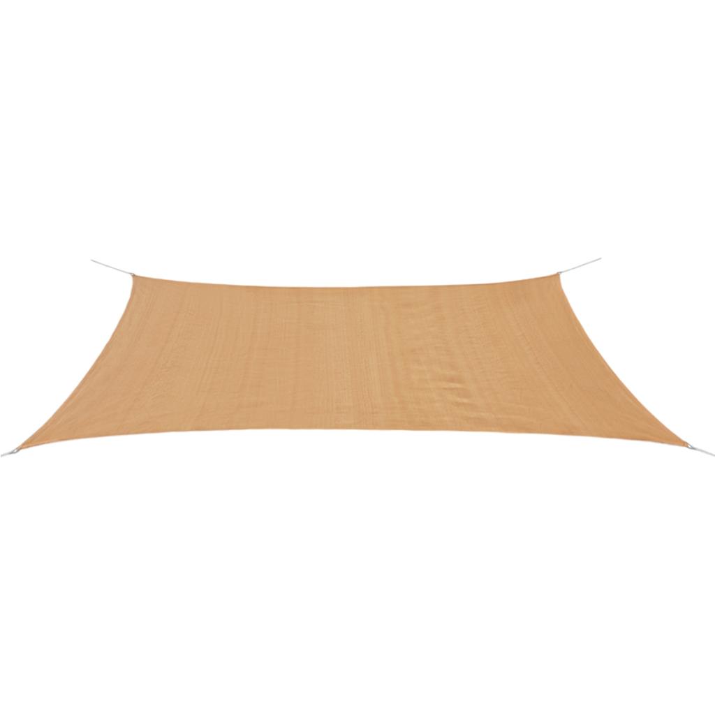 Picture of Sunshade Sail HDPE Rectangular 13.1'x19.7' Beige