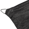 Picture of Sunshade Sail HDPE Rectangular 6.6'x13.1' Anthracite