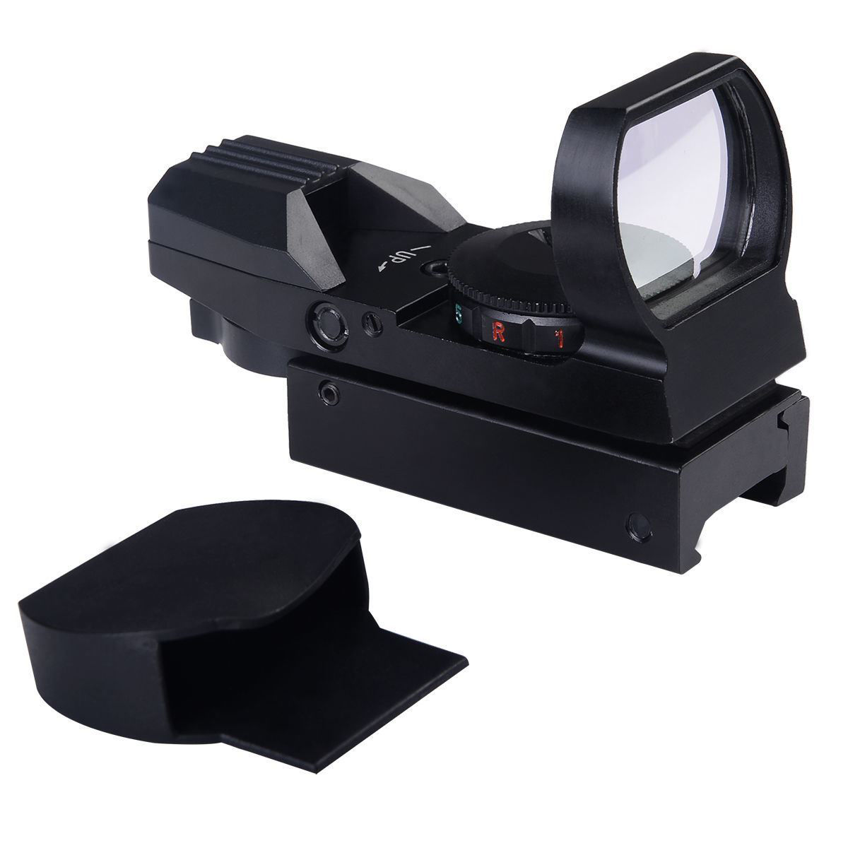 Picture of Tactical Holographic Reflex Red Green Dot Sight 4 Type Reticle for 20mm Rails