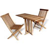 Picture of Teak Three Piece Balcony Set