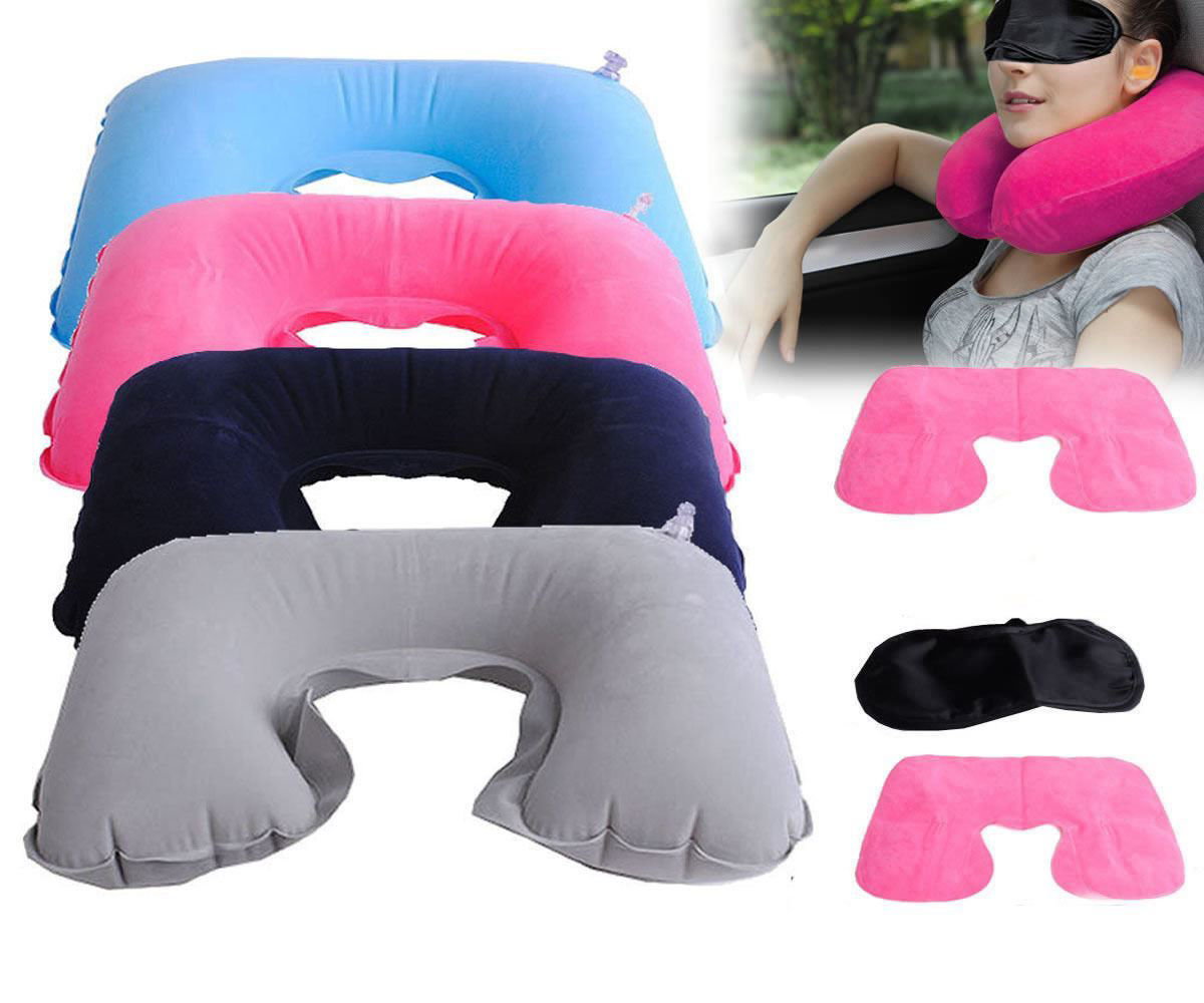Picture of Travel Neck Rest Inflatable Cushion Pillow