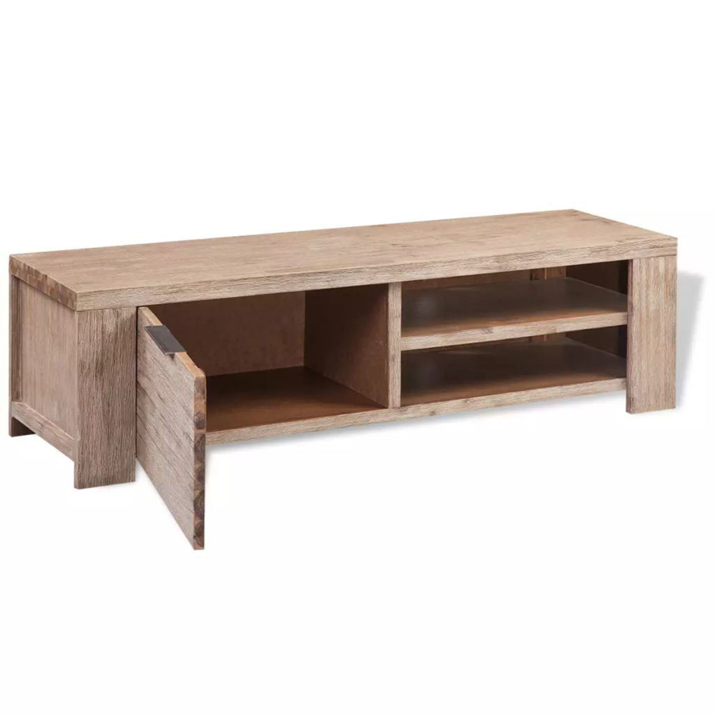 "Picture of TV Cabinet 55"" - Solid Brushed Acacia Wood"