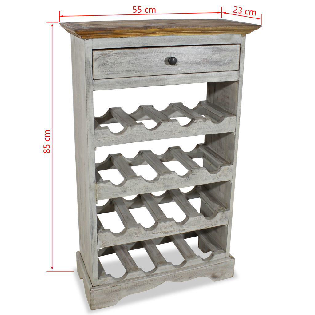 Picture of Wine Rack - Solid Reclaimed Wood