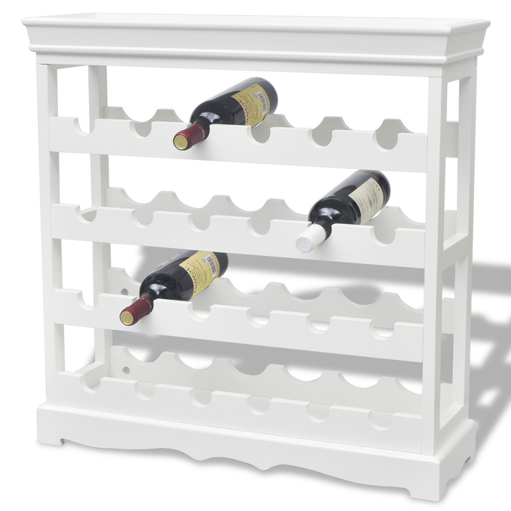 Picture of Wine Rack Cabinet White