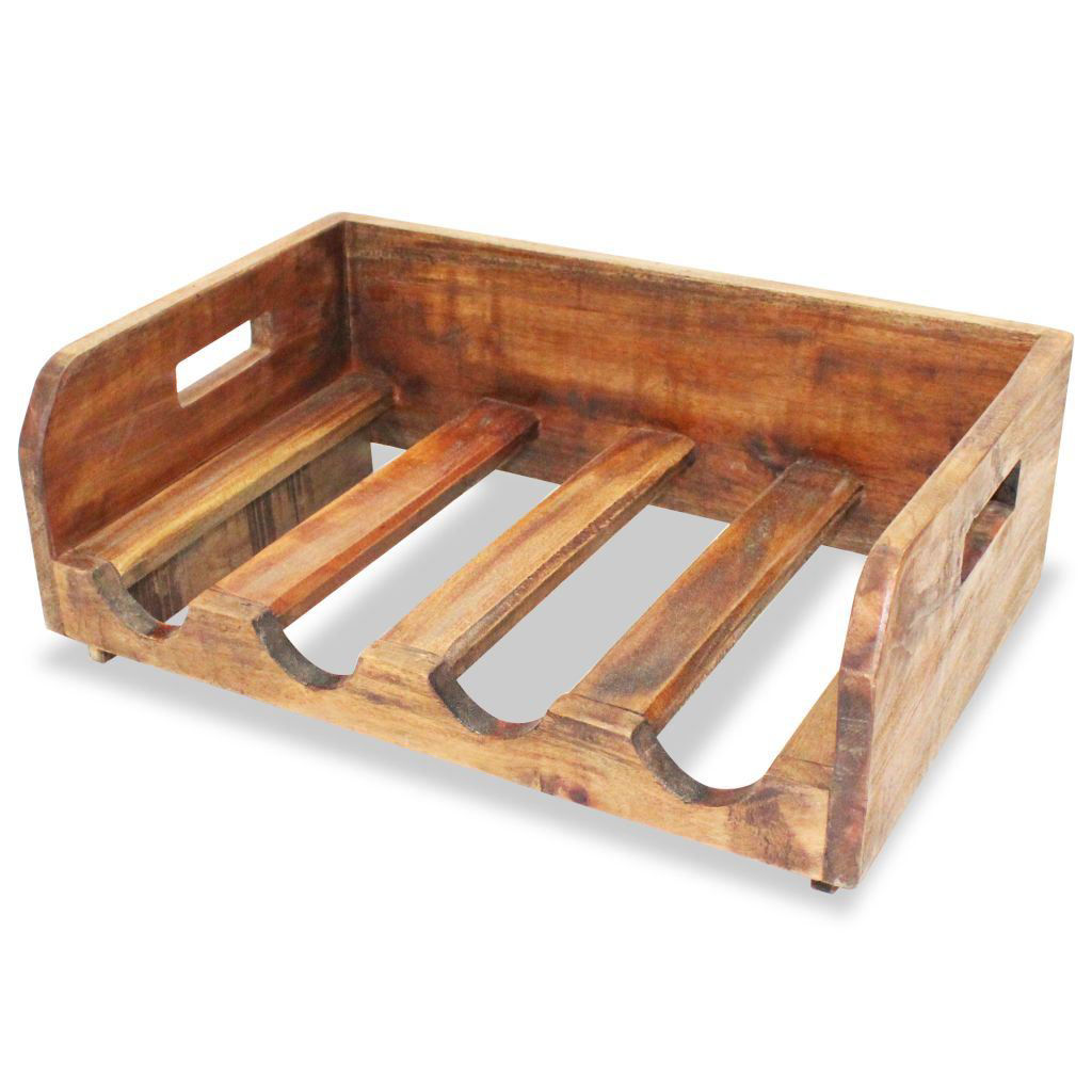 Picture of Wine Racks for 16 Bottles - Solid Reclaimed Wood