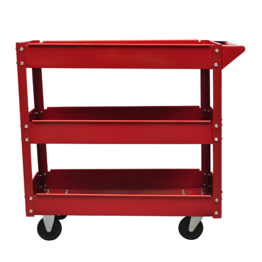Picture of Workshop Tool Trolley Cart 3 Shelves 220 lbs.